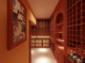 长沙酒窖酒柜,实木酒柜,定制酒柜,红酒柜制作
